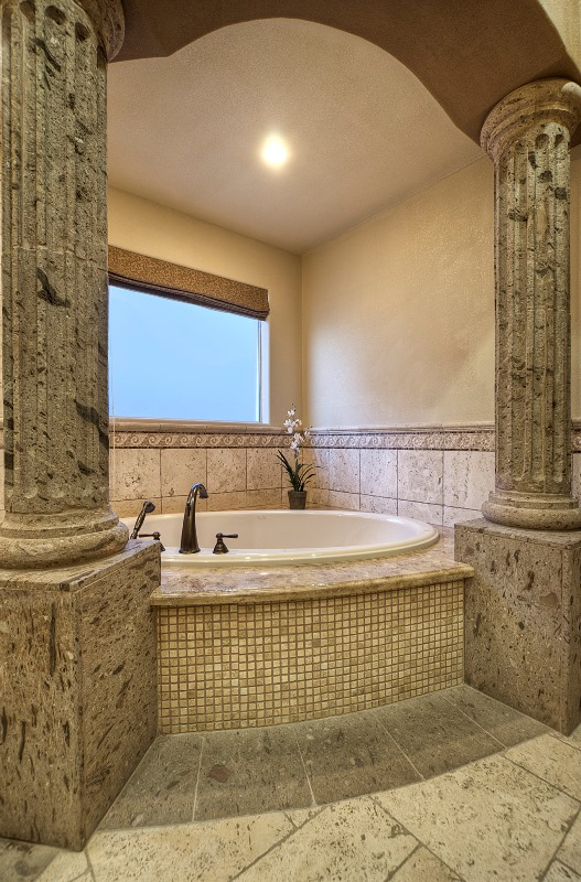 Allure designs bathrooms design Roman style bathroom designs